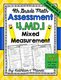 4.MD.1 Assessment: Mixed Measurement {Metric, Customary, & Time}