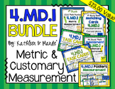 4.MD.1 Bundle: Metric & Customary Measurement