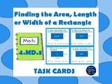 "4.MD.3 Applying the Area Formula ""Task Cards"""