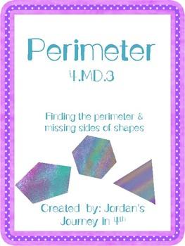 4.MD.3 Perimeter
