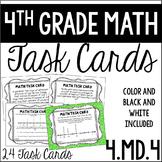 4.MD.4 Task Cards (Line Plots)