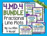 4.MD.4 BUNDLE: Fractional Line Plots