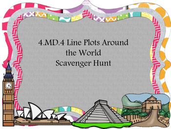 4.MD.4 Global Scavenger Hunt