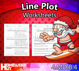 4.MD.4 - Line Plot Worksheets