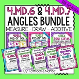 4.MD.6 & 4.MD.7 BUNDLE: Measure, Draw, & Additive Angles