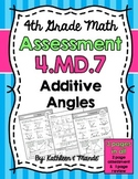 4.MD.7 Assessment: Additive Angles