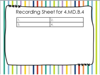 4.MD.B.4 Task Cards