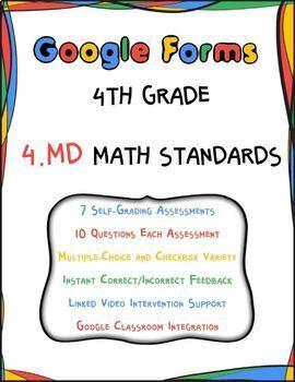 4.MD Google Form Assessments