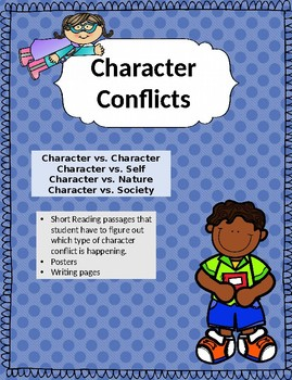 4 Major Character Conflicts