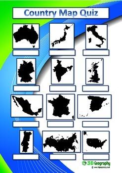 4 Map quizzes