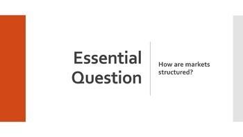 4 Market Structures Economics Lesson!