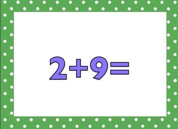 +4 Math Facts (no answers)