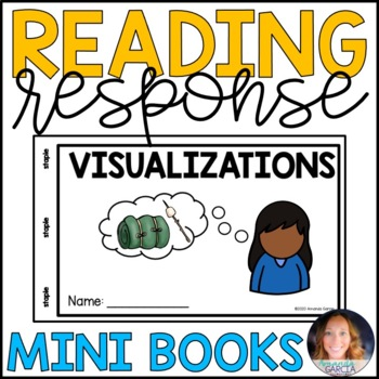 Reading Response MiniBooks {connections, predictions, questions, visualizations}
