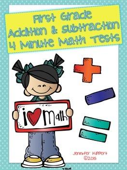 4 Minute Math Practice!