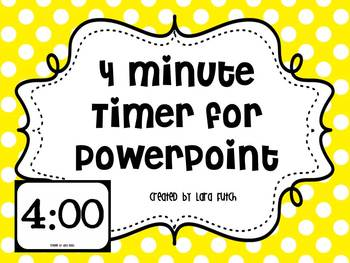 4 Minute Timer for PowerPoint