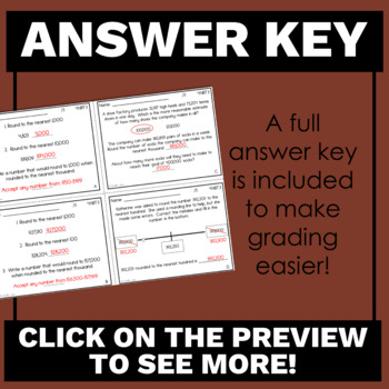 4th Grade Math Exit Tickets for Every NBT Standard