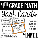 4.NBT.1 4th Grade Math Task Cards