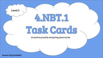 4.NBT.1 Level 3 Task Cards