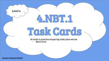 4.NBT.1 Level 4 Task Cards