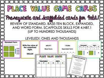 4.NBT.1 Place Value Game