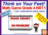 4.NBT.1 THINK ON YOUR FEET MATH! Interactive Test Prep Gam