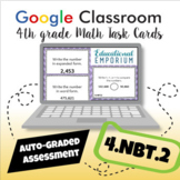 4.NBT.2 Google Task Cards: Read, Write, and Compare Numbers