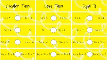 4.NBT.2 Level Three Task Cards