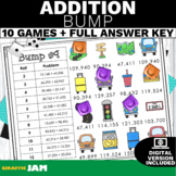4.NBT.4 Bump Addition Game with No Prep for Math Centers