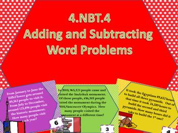 4.NBT.4 Global Task Cards