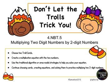 4.NBT.5 Don't Let the Trolls Trick You