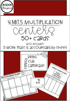 4.NBT.5 Multiplication Center