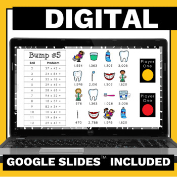 4.NBT.5 Multiplication Games and Activities Bundle for Math Centers & Groups