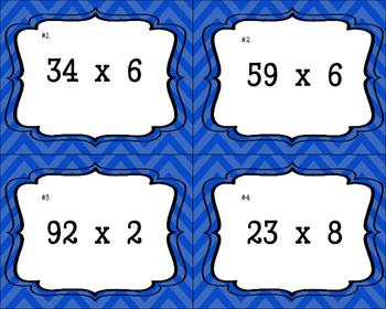 4.NBT.5 Task Cards