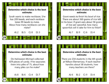 4.NBT.6 - Area Model Division Taskcards