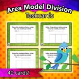 4.NBT.6 - Area Model Division Taskcards