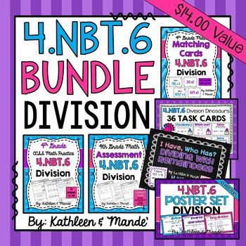 4.NBT.6 BUNDLE: Division