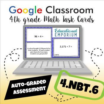 4.NBT.6 Digital Task Cards: Division