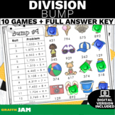 Division Bump Game with No Prep for Math Centers