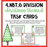 4.NBT.6 Division Christmas Task Cards