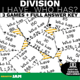4.NBT.6 Division I have, Who Has? Math Games! Common Core