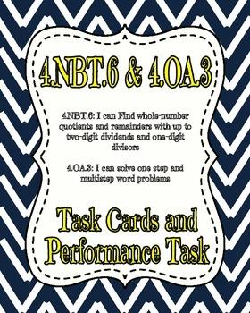 4.NBT.6 and 4.OA.3