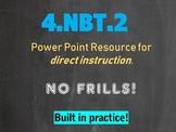 4.NBT.A.2 Expanded Form, Word Form, Unit Form, Standard Fo