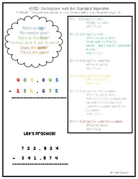 4.NBT.B.4: Addition and Subtraction Using the Standard Algorithm