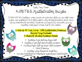 4.NBT.B.5 Multiplication Math Task Cards Bundle