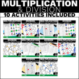 4.NBT.5 and 4.NBT.6 Mega Bundle Multiplication and Divisio