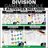 4.NBT.6 Division Games and Activities Bundle! Common Core