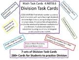 4.NBT.B.6 Division Math Task Cards Bundle