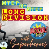 4.NBT.B.6 Step by Step Long Division Boom Cards™