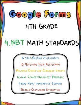 4.NBT Google Form Assessments