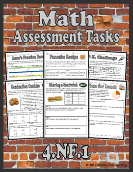 4.NF.1 Math Assessment Tasks